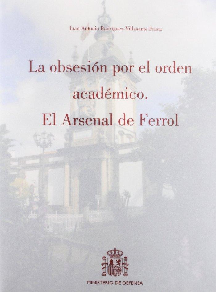 Obsesion por el orden academico,la