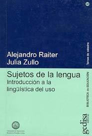 Sujetos de la lengua