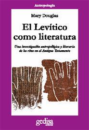 Levitico como literatura,el