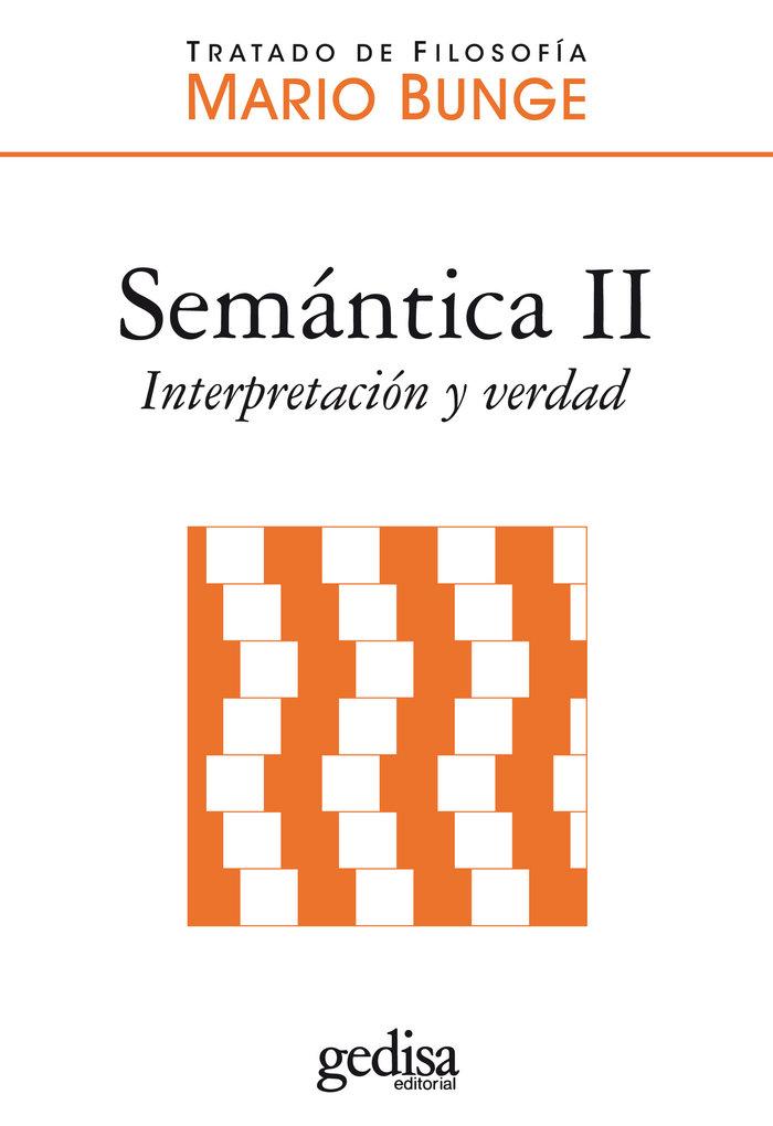 Semantica ii interpretacion y verdad