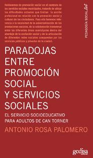 Paradojas entre la promocion social y servicios sociales