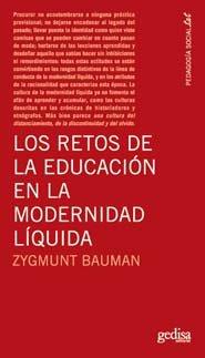 Retos de la educacion en la modernidad liquida,los