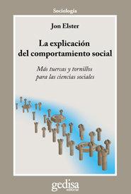 Explicacion del comportamiento social,la