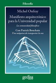 Manifiesto arquitectonico para la universidad popular