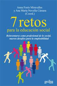 7 retos para la educacion social