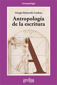Antropologia de la escritura