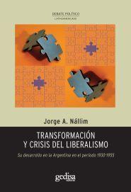 Transformacion y crisis del liberalismo