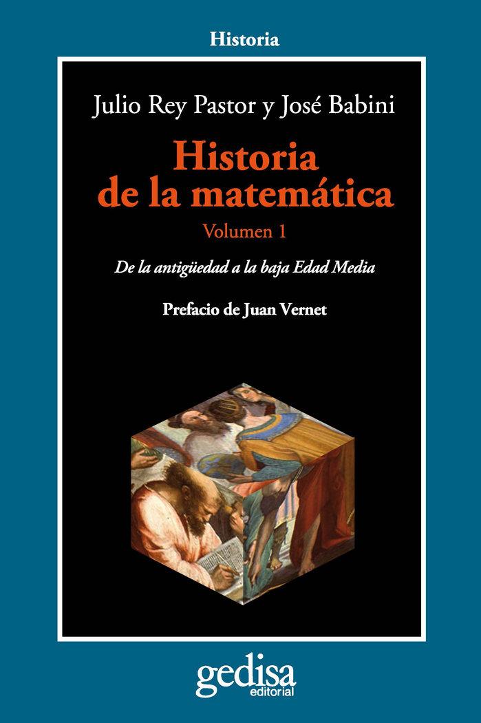 Historia de la matematica vol.i