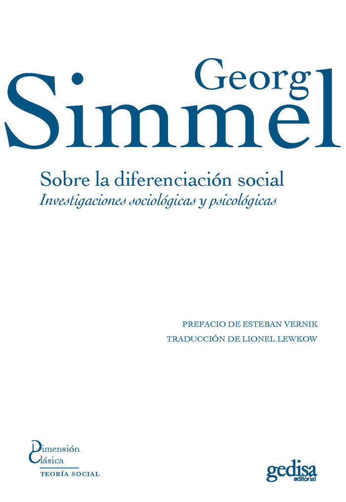 Sobre la diferenciacion social