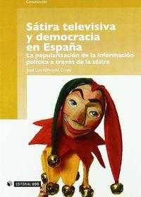 Satira televisiva y democracia en españa