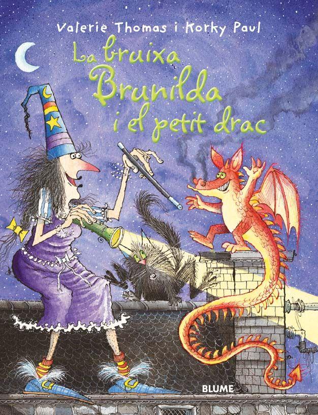 Bruixa brunilda i el petit drac