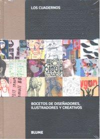 Cuadernos bocetos de diseñadores ilustradores y creativos