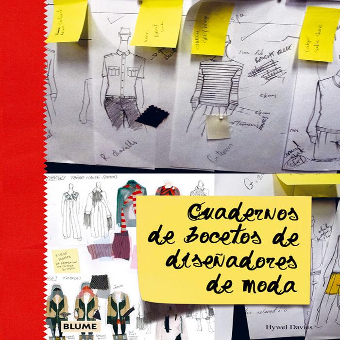 Cuadernos de bocetos de dise¿adores de moda