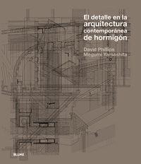 Detalle en la arquitectura contemporanea de hormigon