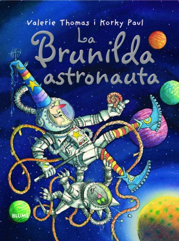 Bruixa brunilda astronauta