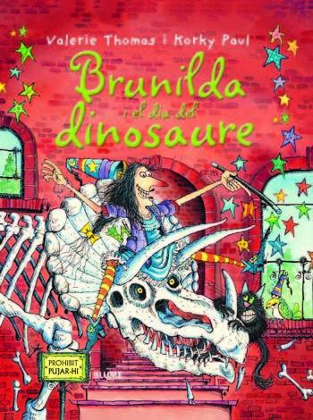 Bruixa brunilda i el dia del dinosaure