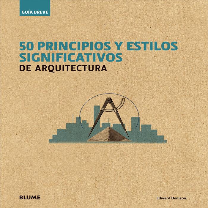 Gu¡a breve. 50 principios y estilos significativos de arquit