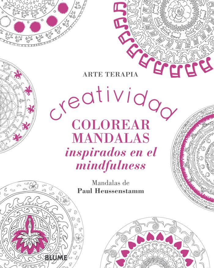 Creatividad colorear mandalas inspirados en el mindfulness