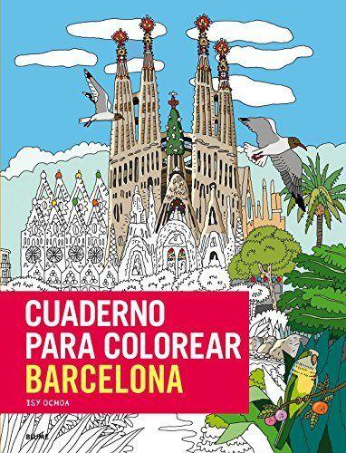 Cuaderno para colorear barcelona