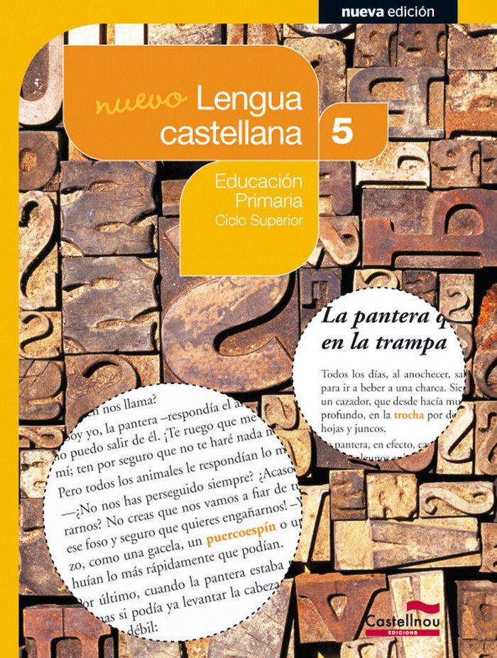 Nuevo lengua castellana 5ºep 14 sbb
