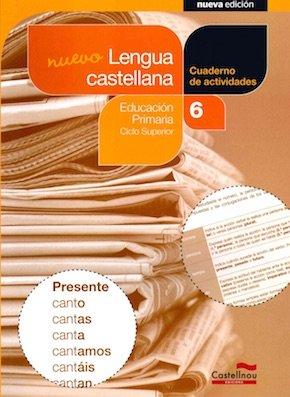 Cuaderno lengua castellana 6ºep 14 sbb