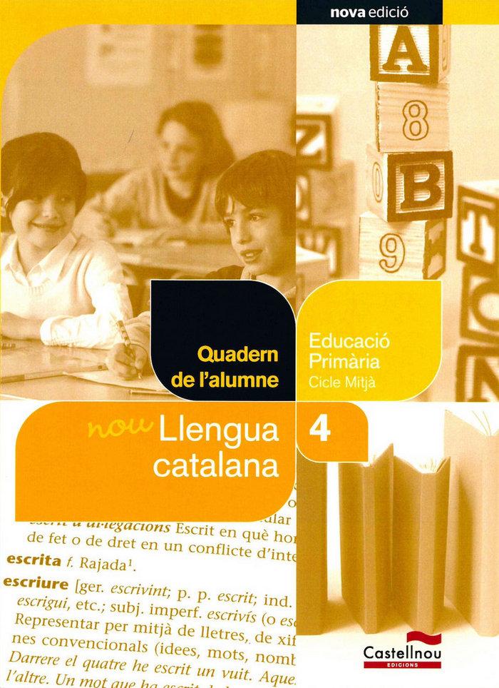 Quadern nou llengua catalana 4ºep 12 sbb