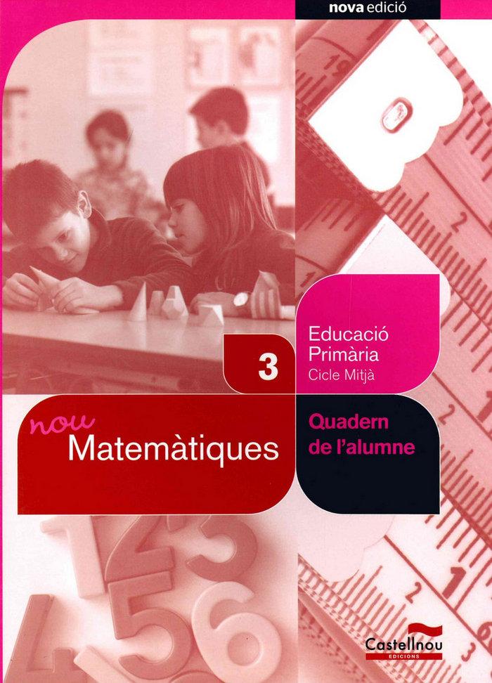 Quadern nou matematiques 3ºep 12 sbb