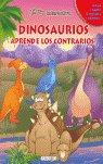 Dinosaurios aprende los contrarios