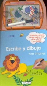 Zoo el escribe y dibuja imanes