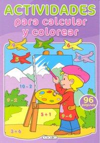 Actividades para calcular y colorear