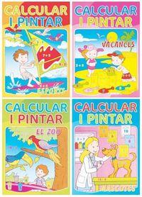 Calcular i pintar (4 titulos)