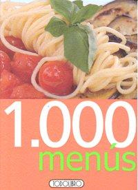 1000 menus (naranja)