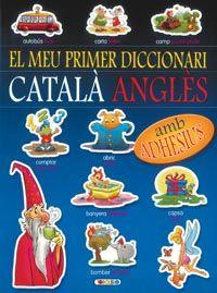 Diccionari catala-angles (blau)