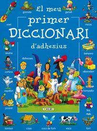 Meu primer diccionari d¿adhesius (blau),el