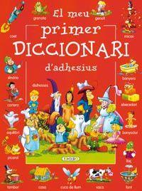 Meu primer diccionari d¿adhesius (vermell),el