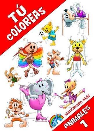 Tu coloreas animales, 1