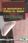 Procedimientos tecnicas del grabado y su aplicacion en la a