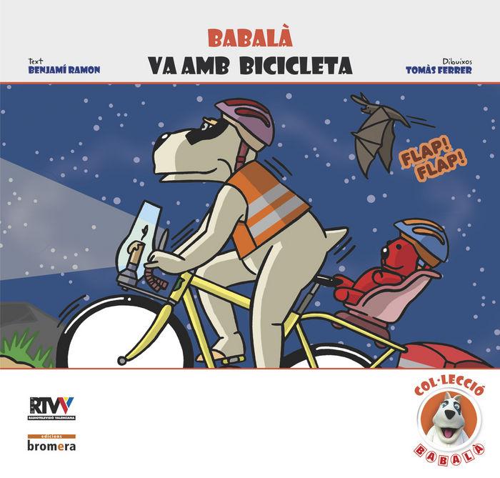 Babala va amb bicicleta
