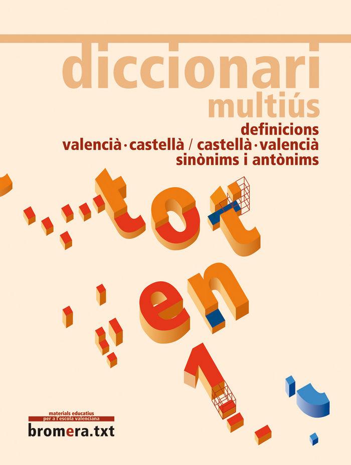 Diccionari multius