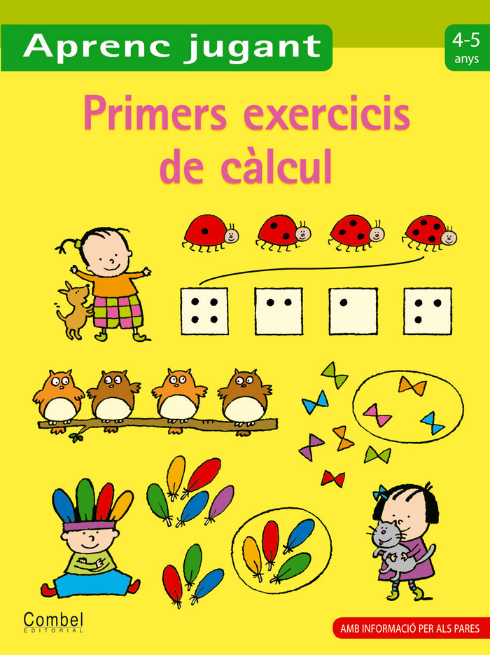 Primers exercicis de calcul 4-5 anys
