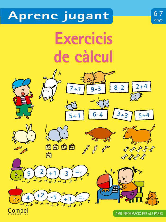 Exercicis de calcul 6-7 anys