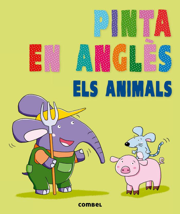 Pinta en angles. els animals