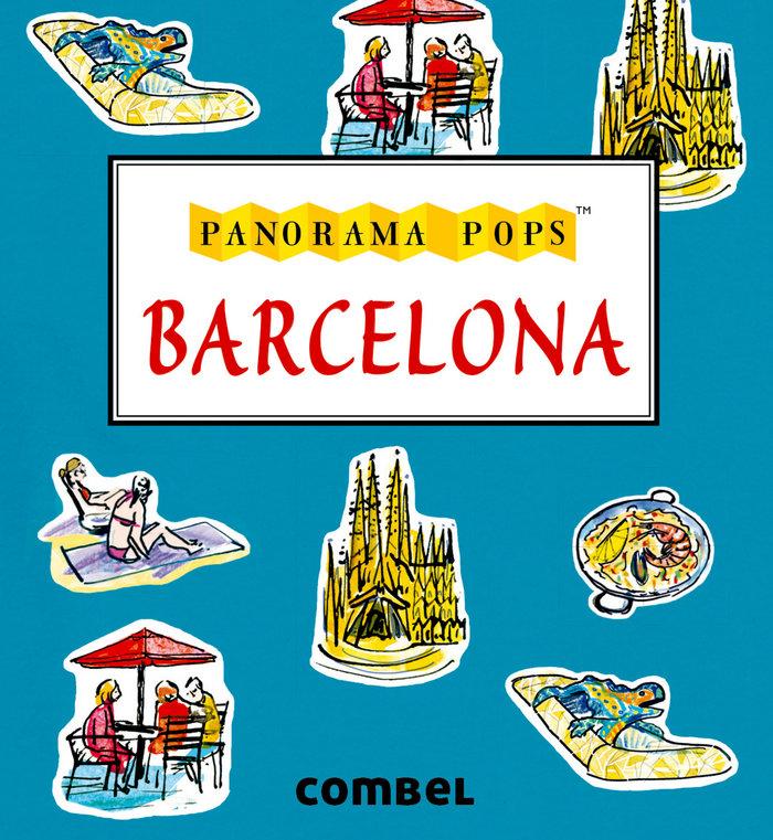 Barcelona panorama pops