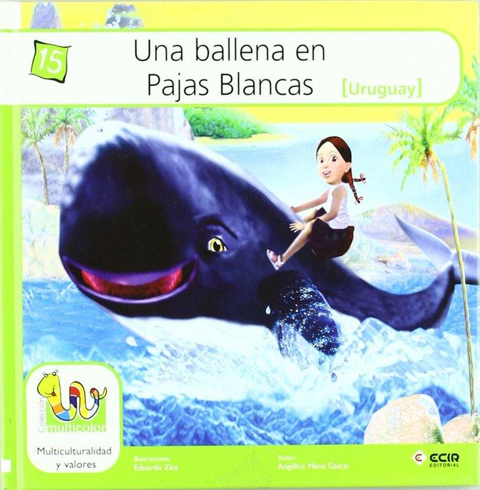 Una ballena en pajas blancas (t)
