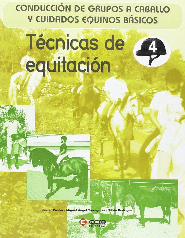 Tecnicas de equitacion