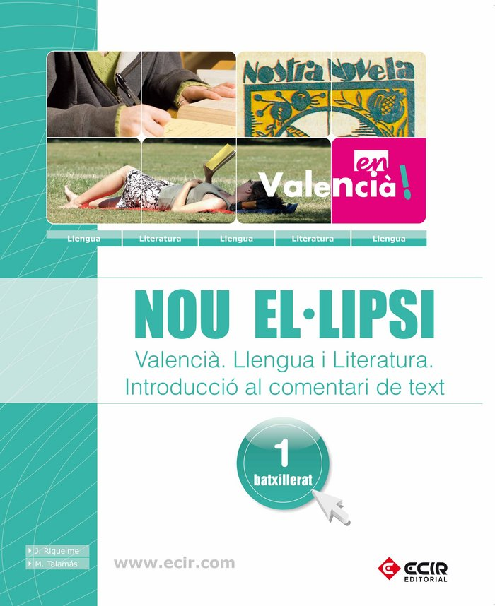 Nou el.lipsi - valencia - llengua i literatura, in