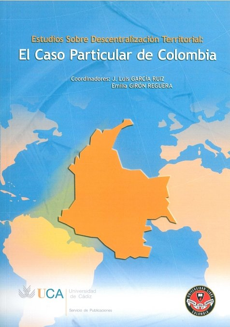 Estudios sobre la descentralizacion territorial