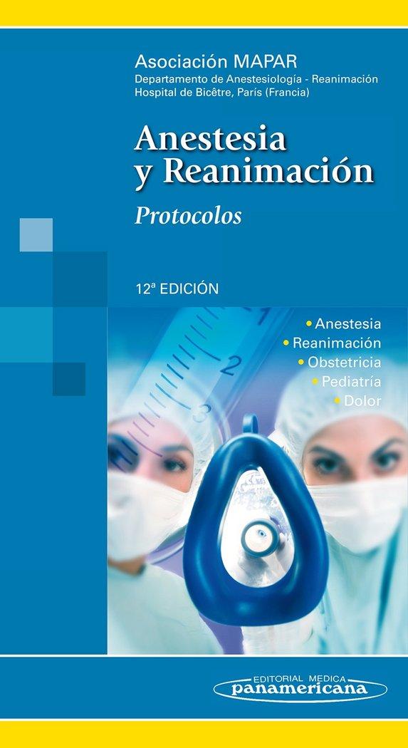 Anestesia y reanimacion