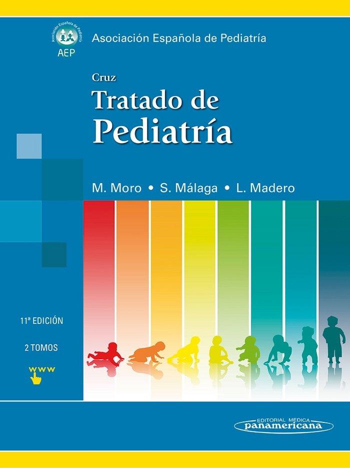 Tratado de pediatria tomos i y ii  cruz