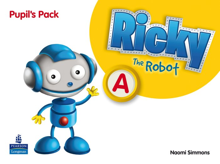Ricky the robot a st 11 pack 3años